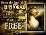 FREE eBook Feb 7 & 8! Jump into The Dryad Quartet series…