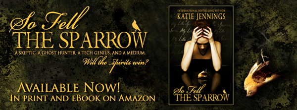 Sparrow Release Day Blog Banner