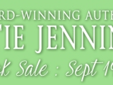 $0.99 ACROSS THE BOARD eBOOK SALE + GIVEAWAY! September 19th thru 21st