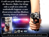 "Available Now! ""Just Cause"" by Bestselling Author Carolyn Arnold"